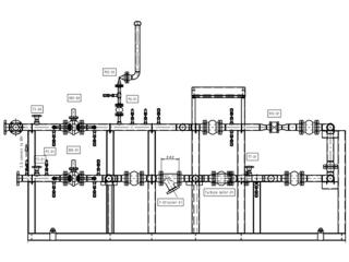 Configuration of Gas Station